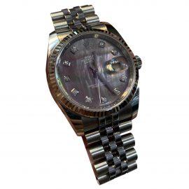 Rolex Datejust 36mm White Steel Watch for Women