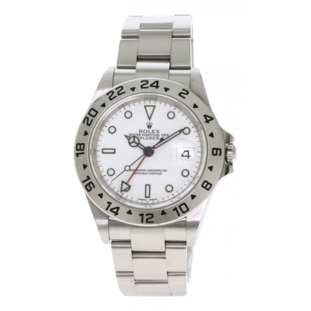 Rolex Explorer 39mm Silver Steel Watch for Men