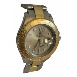 Rolex Lady Yacht-Master Silver gold and steel Watch for Women