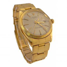 Rolex Oyster Perpetual 34mm Yellow Yellow gold Watch for Men