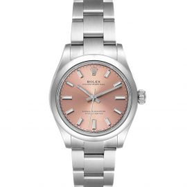 Rolex Pink Stainless Steel Oyster Perpetual Automatic 277200 Women's Wristwatch 31 MM