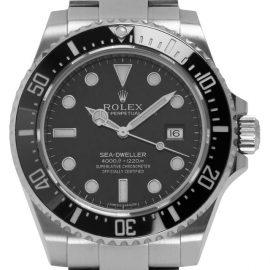 Rolex Sea-Dweller 116600, Baton, 2015, Very Good, Case material Steel, Bracelet material: Steel