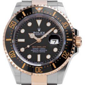 Rolex Sea-Dweller 126603, Baton, 2019, Unworn, Case material Steel, Bracelet material: Steel