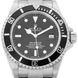Rolex Sea-Dweller 16600, Baton, 2002, Very Good, Case material Steel, Bracelet material: Steel