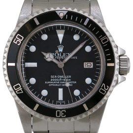 Rolex Sea-Dweller 1665, Baton, 1976, Very Good, Case material Steel, Bracelet material: Steel