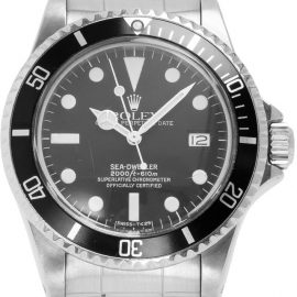 Rolex Sea-Dweller 1665, Baton, 1981, Used, Case material Steel, Bracelet material: Steel