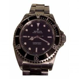 Rolex Submariner Blue Steel Watch for Men