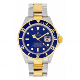 Rolex Submariner gold and steel Watch for Men