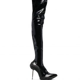 Rombaut Dysmorphia thigh-high boots - Black