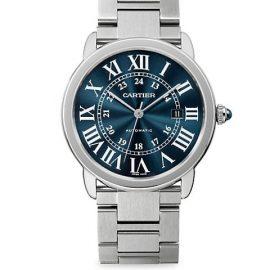 Ronde Solo de Cartier Stainless Steel Bracelet Watch