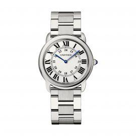 Ronde Solo de Cartier Watch 36mm, Quartz Movement, Steel