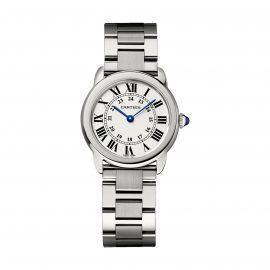 Ronde Solo de Cartier watch, 29 mm, steel