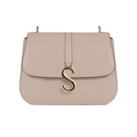 S Leather Shoulder Bag