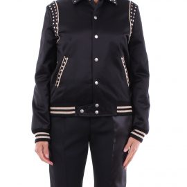 SAINT LAURENT Jackets Bomber Women Black