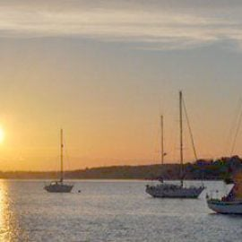 Sailing Afternoon with Cream Tea for Two on the River Orwell