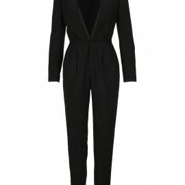 Saint Laurent Deep V-neck Tailored Jumpsuit