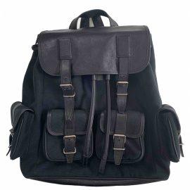 Saint Laurent N Black Cloth Bag for Men