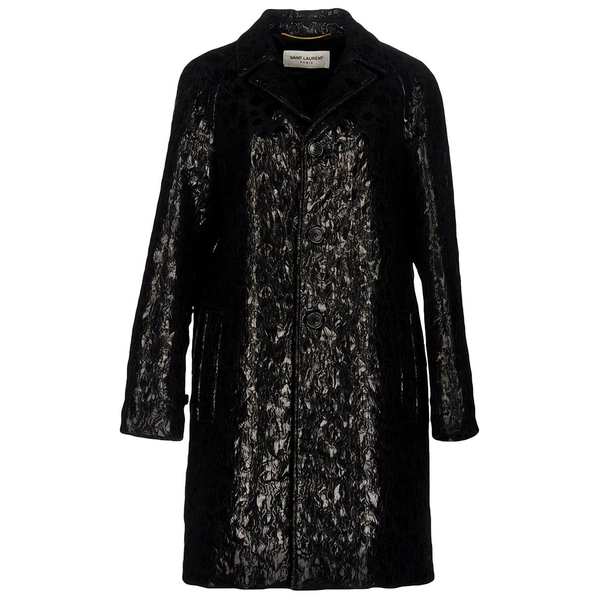 Saint Laurent N Black Coat for Women