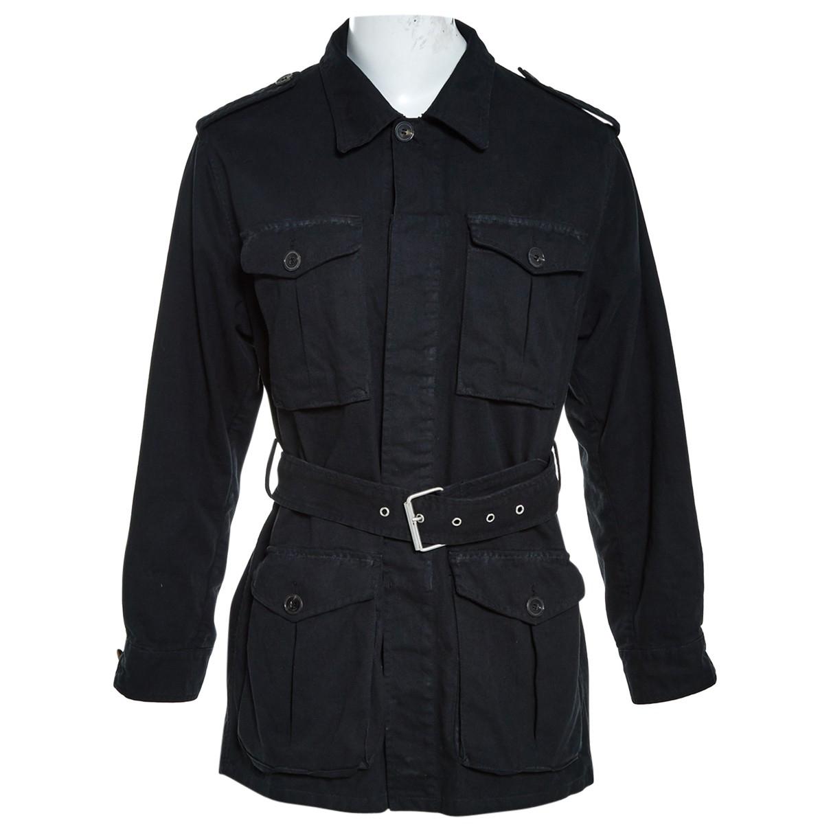 Saint Laurent N Black Cotton Jacket for Women