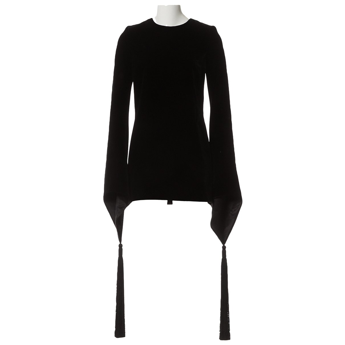 Saint Laurent N Black Velvet Dress for Women