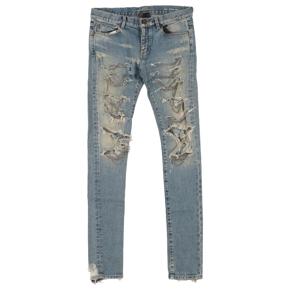 Saint Laurent N Blue Denim - Jeans Jeans for Women