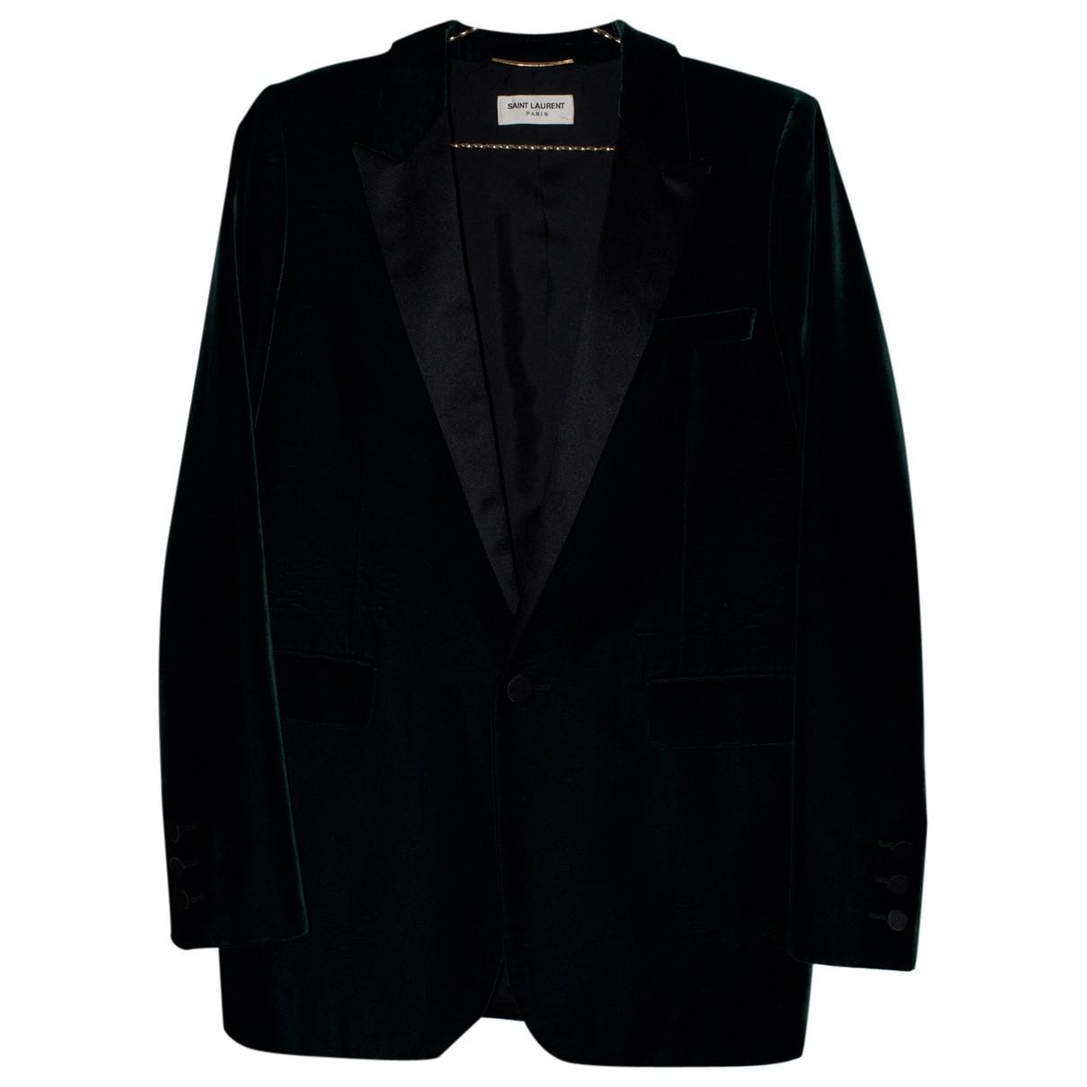 Saint Laurent N Green Jacket for Women