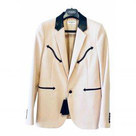Saint Laurent N Pink Wool Jacket for Women