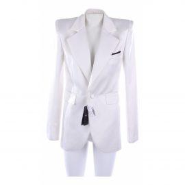 Saint Laurent N White Silk Jacket for Women
