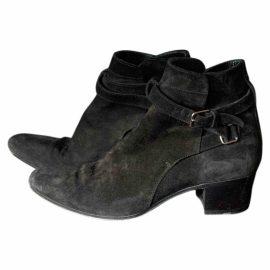 Saint Laurent West Chelsea ankle boots