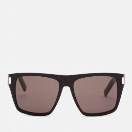 Saint Laurent Women's D-Frame Acetate Sunglasses - Black