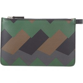 Salvatore Ferragamo Wallet for Men On Sale in Outlet, Green, Leather, 2021