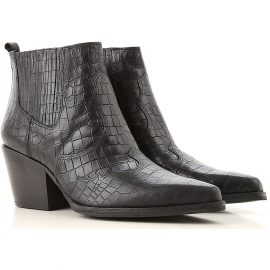Sam Edelman Chelsea Boots for Women On Sale, Black, Leather, 2021, 5.5 7