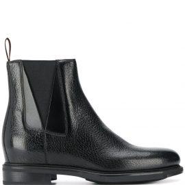 Santoni Chelsea ankle boots - Black
