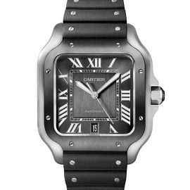 Santos de Cartier Large Two-Tone Stainless Steel Two-Strap Watch
