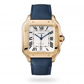 Santos de Cartier watch, Large model, automatic, rose gol ...