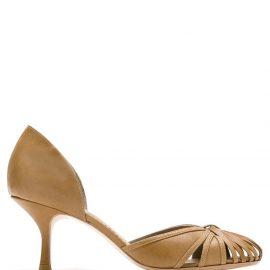 Sarah Chofakian Sarah leather pumps - Brown
