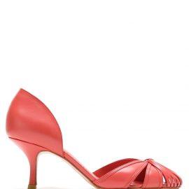 Sarah Chofakian Sarah leather pumps - Red