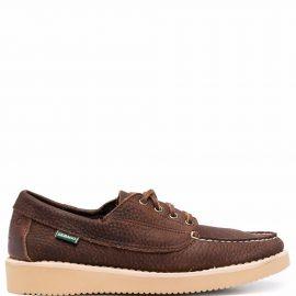 Sebago Dockside lace-up boat shoes - Brown