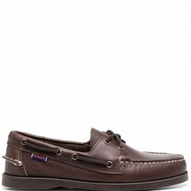 Sebago Schooner boat shoes - Brown