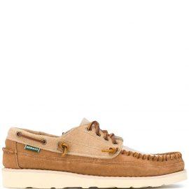 Sebago lace-up boat shoes - Neutrals