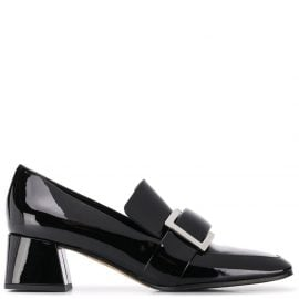 Sergio Rossi Prince loafer-style pumps - Black