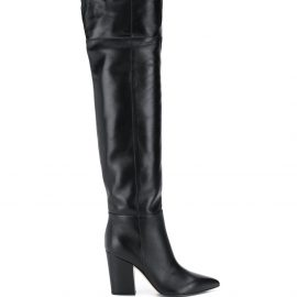 Sergio Rossi over the knee boots - Black