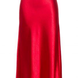 Sies Marjan midi a-line skirt - Red