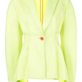 Sies Marjan neon draped blazer - Yellow