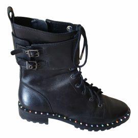 Sophia Webster Leather biker boots