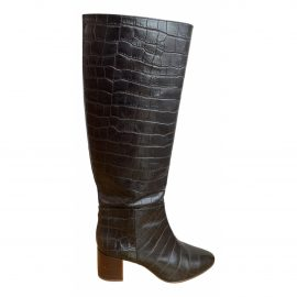 Sophia Webster Patent leather riding boots
