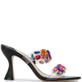 Sophia Webster Ritzy mule sandals - Black