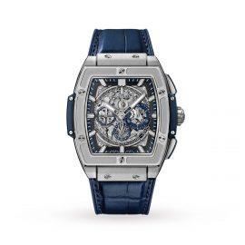 Spirit of Big Bang Titanium Blue Chronograph 42mm