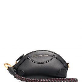 Stella McCartney Doctor logo clutch bag - Black