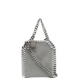 Stella McCartney chain-link detail mini bag - Grey